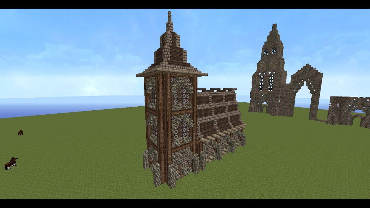 Eglise Minecraft Build