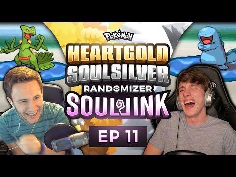 MOM GET THE CAMERA! | Pokemon Heart Gold and Soul Silver Soul Link Randomized Nuzlocke EP 11
