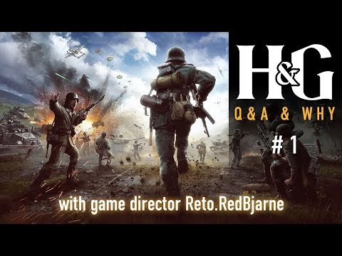Heroes & Generals - Q&A & Why #1 with Game Director Reto.RedBjarne