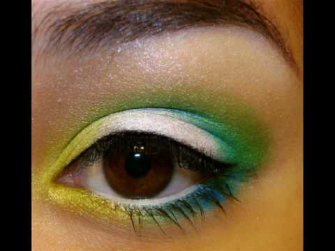 Image result for parrot inspired makeup