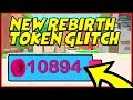 watch he video of NEW REBIRTH TOKEN GLITCH? | Mining Simulator Roblox