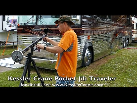 Kessler Pocket Jib Traveler - Super Video Tool in 4k UHD