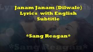 Janam janam (diwale) with English subtitle