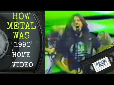 How Metal Was - 1990 Home Video
