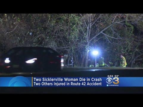 2 Women Killed In One-Car Rash In Gloucester Township