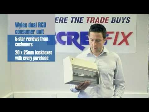 hqdefault screwfix buyer matt rockliff demonstrates wylex 10 way high high integrity consumer unit wiring diagram at soozxer.org