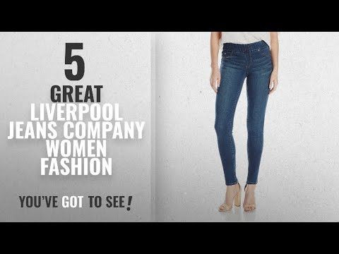 Liverpool Jeans Company Women Fashion [2018 Best Sellers]: Liverpool Women's Sienna Legging Pull-On