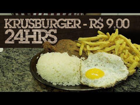 Krusburger 24hrs - R$ 9,00 -#GSGPOA