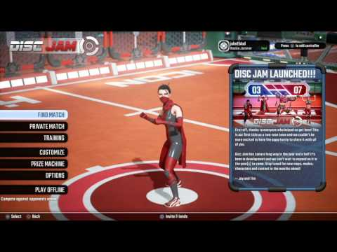 nL Live - Disc Jam (Free on PSN in March) [FIRST PLAYTHROUGH]