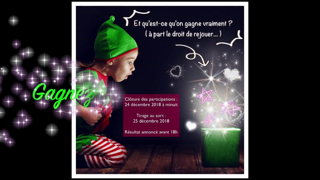 Grand Jeu Concours Gagnez La Hotte Du Pere Noel Youtube