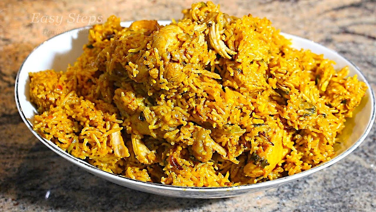 How to make chicken biryani in pressure cooker step by