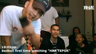 HAA TEPOK (REACTION VIDEO) Badboii- MK, Kidd Santhe, Meerfly, Caprice, Yonnyboii, Zynakal