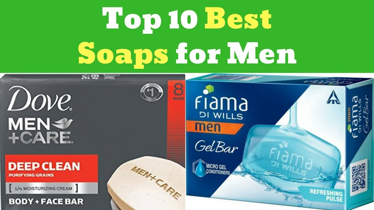 Top 10 Best Soaps For Men In India For Dry Skin Oily Skin Face