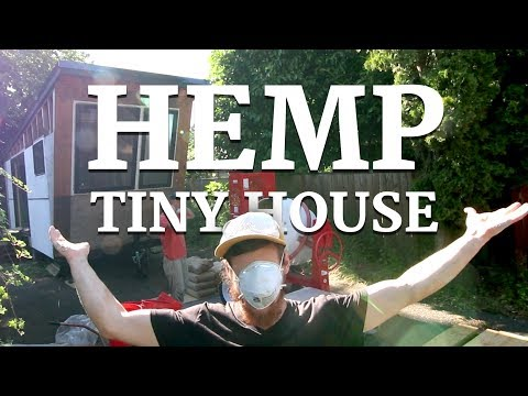 The Tiny HEMP House
