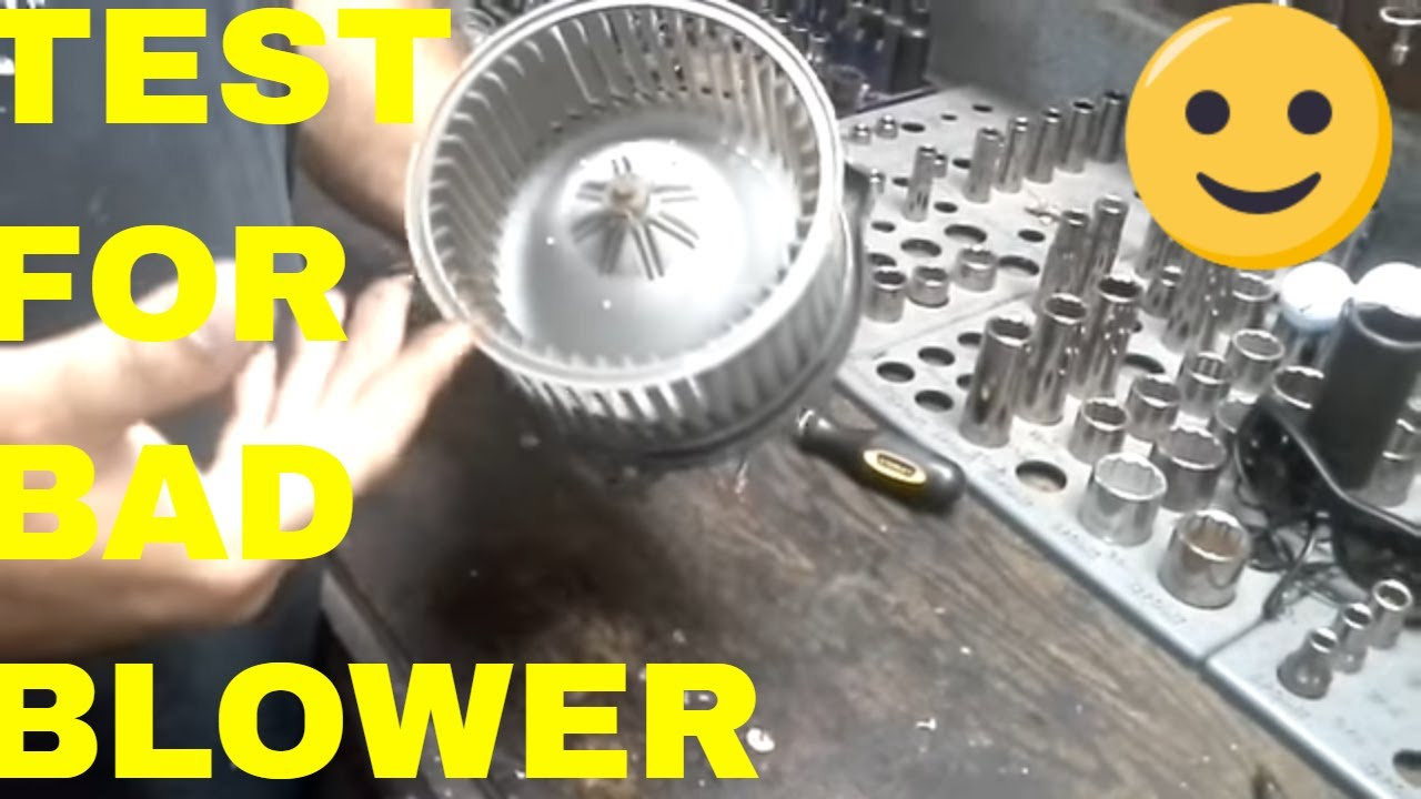 Test Blower Fan Motor And Explain How Brushes Go Bad Youtube