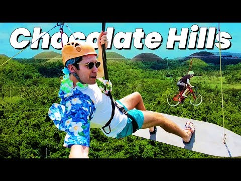 INSANE Filipino Adventure at the Chocolate Hills! - Bohol, Philippines Vlog
