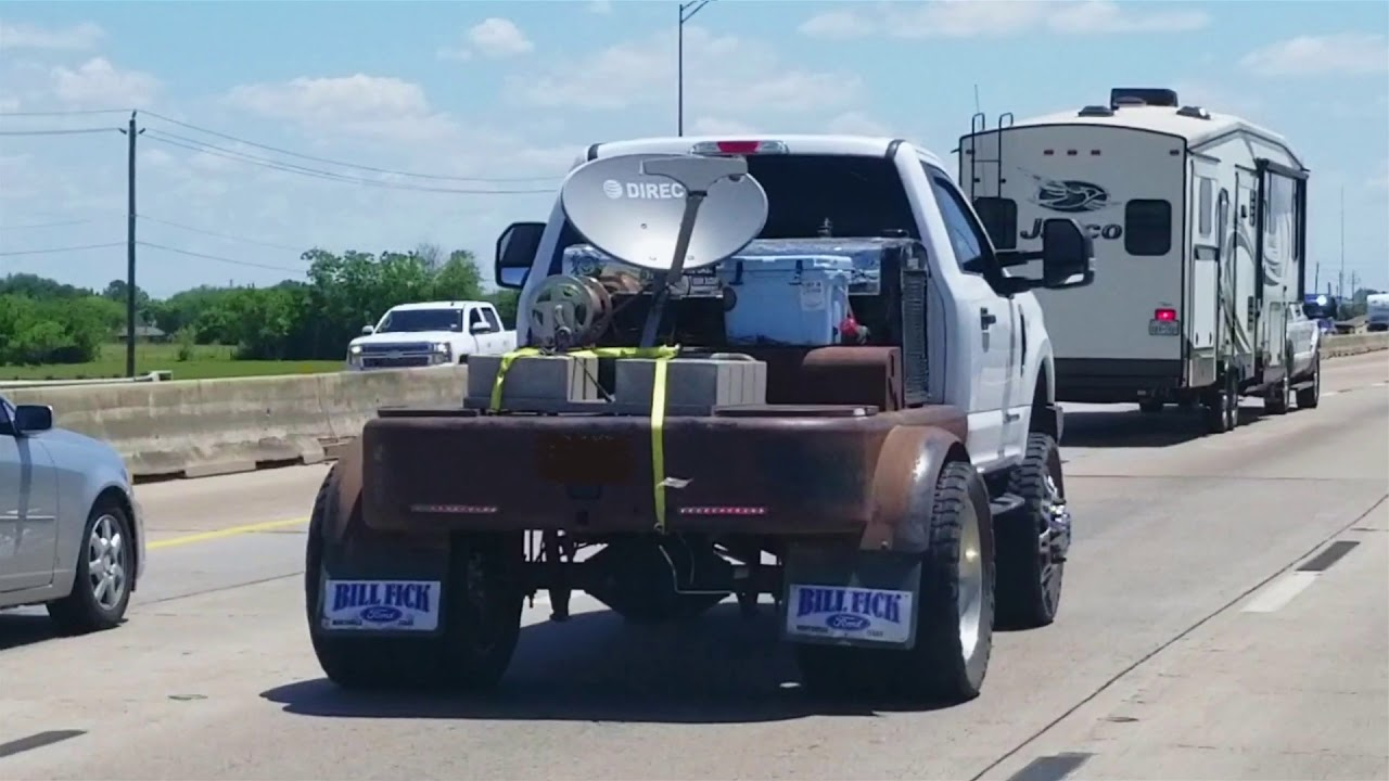 ford  welding rig   highway passing   youtube