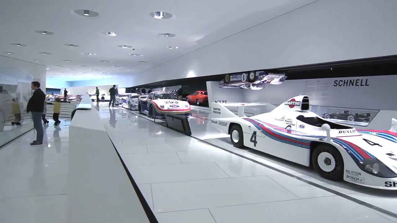 visit the porsche museum in stuttgart youtube. Black Bedroom Furniture Sets. Home Design Ideas