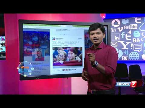Betting sites see record wagering on US presidential election | Social Media | News7 Tamil