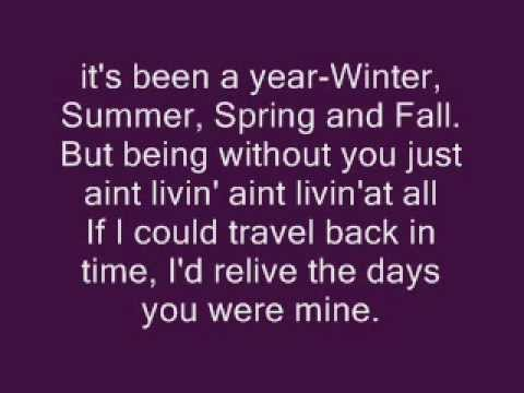 Incomplete - Sisqo (Lyrics)