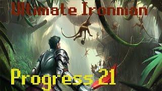 ultimate ironman   progress 21   luck