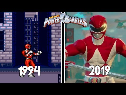 Power Rangers Games Evolution (1994 - 2019)