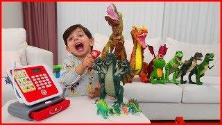 Yankı Dino Markette Oyuncakçı Oldu, Annesine Oyuncak Sattı l Oyuncak Oyunları l Prens Yankı