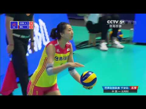 2018 FIVB Volleyball National League (Ningbo) YUAN Xinyue Hi