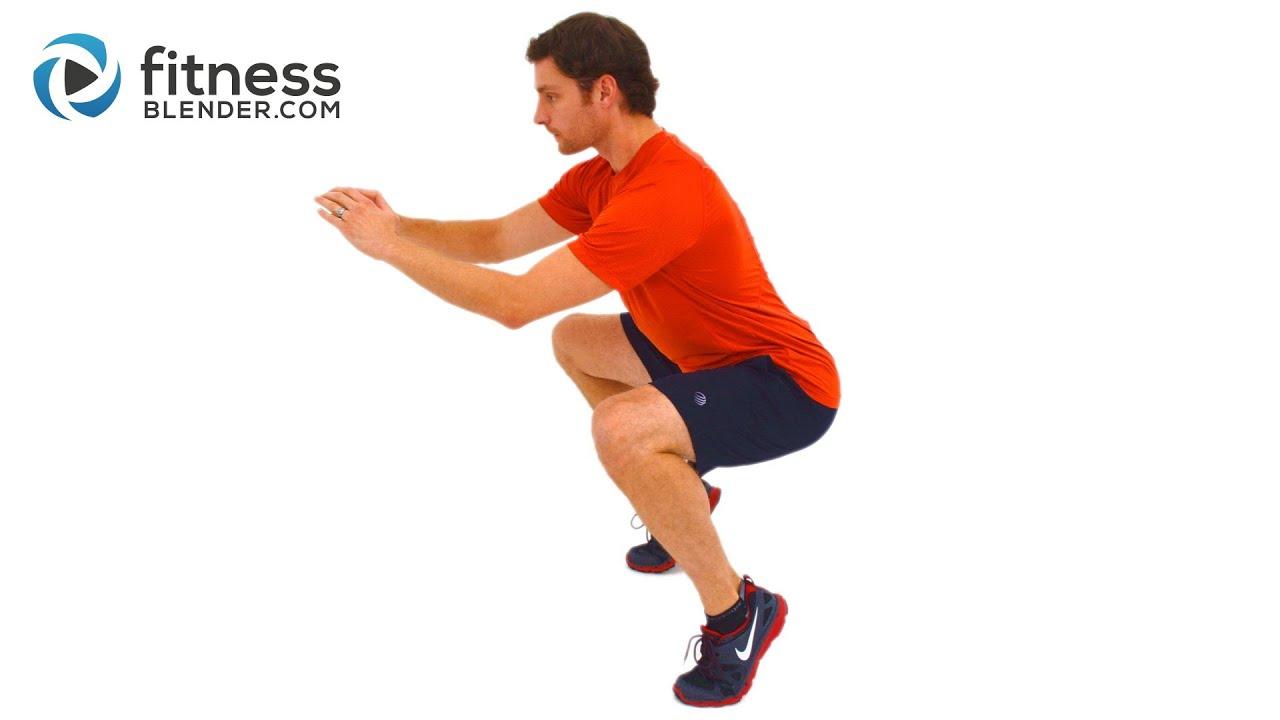 Quick Leg Burn - Beginner to Advanced Lower Body Workout Routine