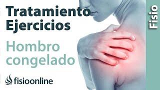 Doloroso tratamiento hombro
