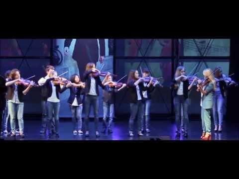 Ансамбль скрипачей 'Вдохновение' - Ennio Morricone 'Cinema Paradiso'