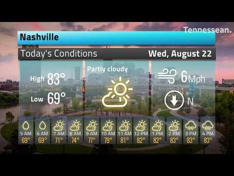 Nashville, TN Weather Hourly Forecast