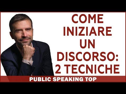 Immagine per Public Speaking: Come iniziare un discorso