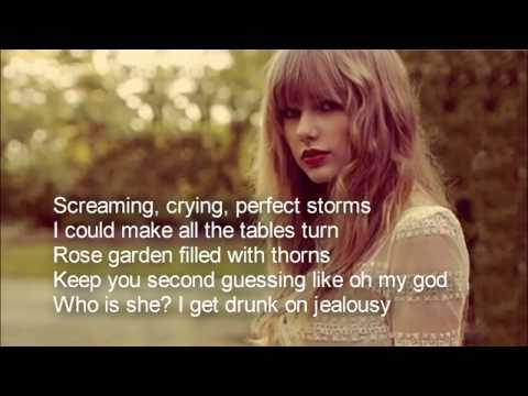 Taylor Swift - Blank space - Lyrics