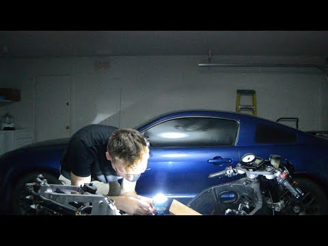 How to build a custom motorcycle headlight