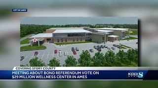 Ames citizens to vote on $29 million referendum for healthy life center