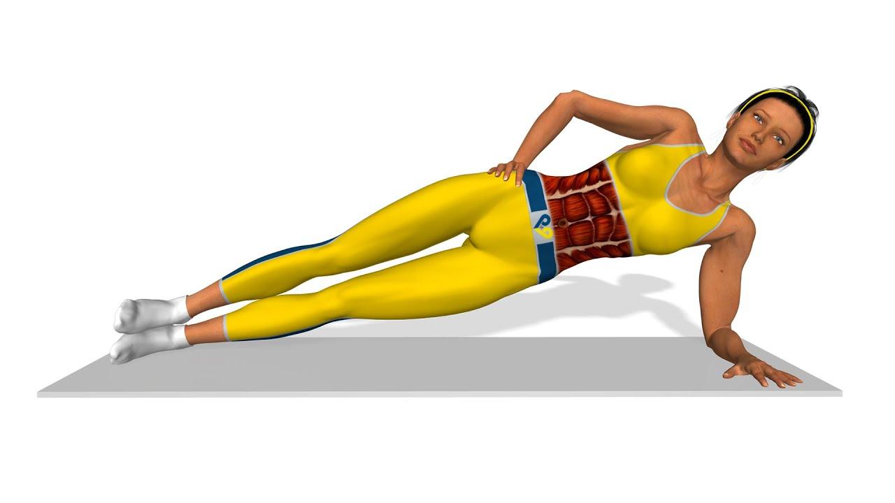 seitliche bauchmuskeln trainieren side plank youtube. Black Bedroom Furniture Sets. Home Design Ideas