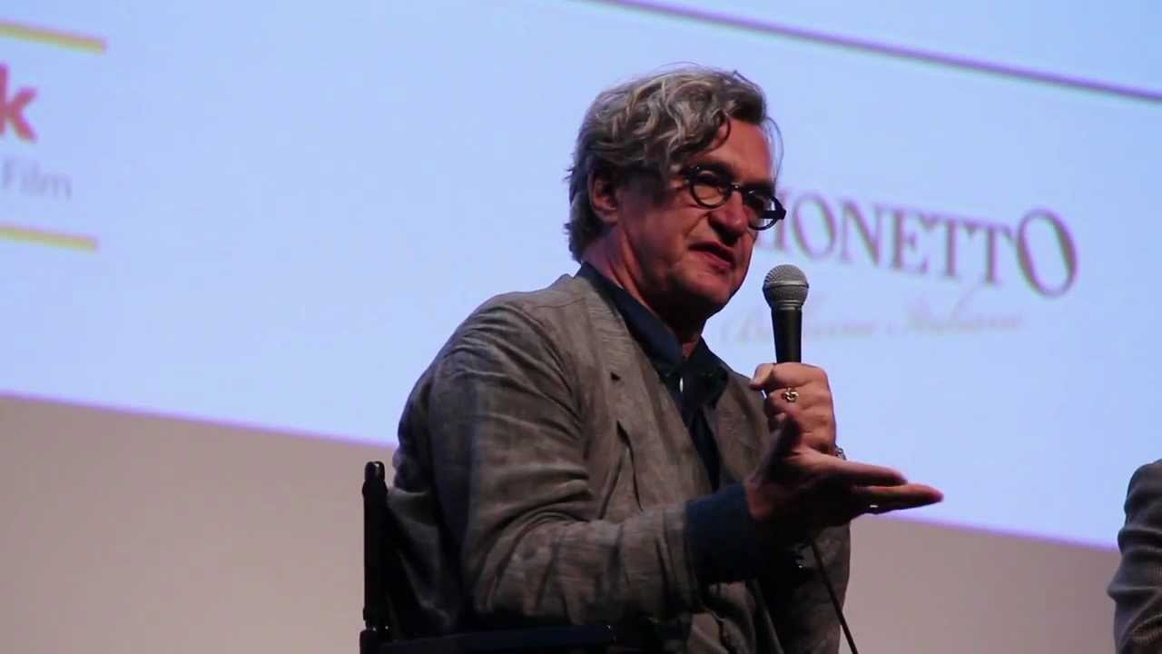 Wim Wenders at the 49th New York Film Festival