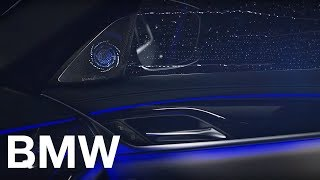 BMW 5 серии с аудиосистемой Bowers & Wilkins Diamond Surround.