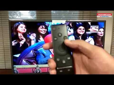 Samsung M series TV recording process