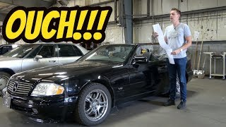 Here's Everything that's Broken with My Cheap V12 Mercedes SL600