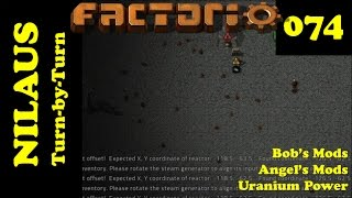 Lets Play Factorio S3E74 - Nuclear Power plant components
