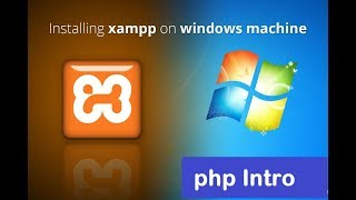 PHP Tutorial - 1 -Introduction of php language and installing xampp server
