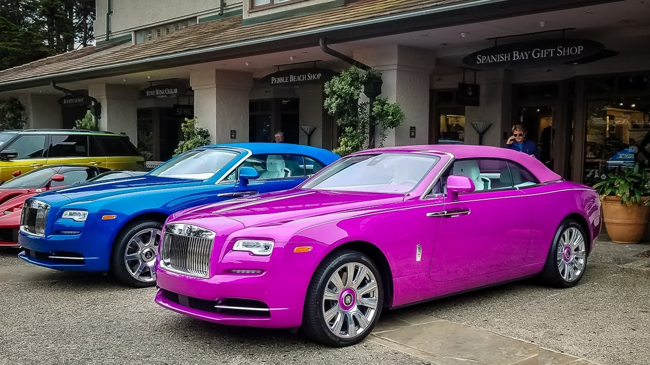 Nobody Else Can Have This Color On A Rolls Royce