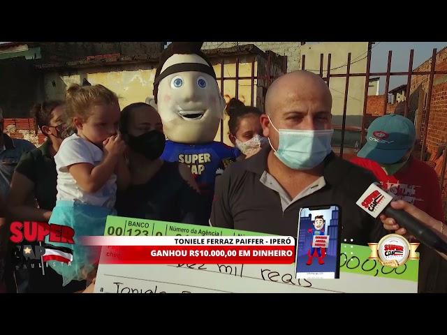 Ganhadores Supercap Paulista - 19/09/2021 - 1ºPRÊMIO