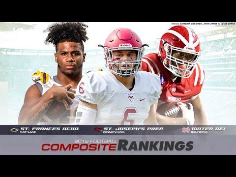 Top 25 Composite High School Football Rankings