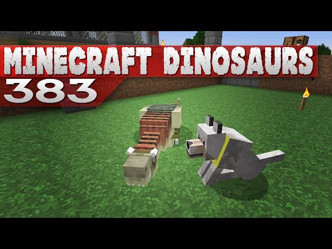 Minecraft Dinosaurs! || 383 || Adventure with Dog