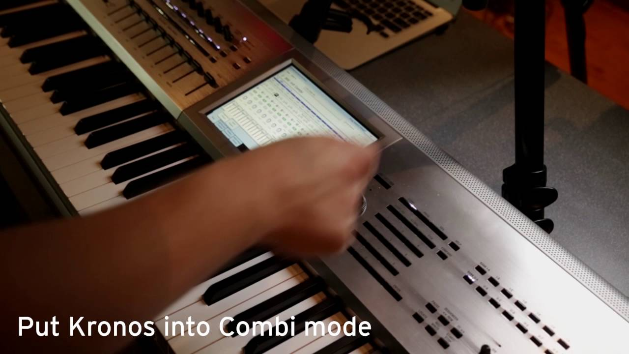 Korg Kronos Quick Combi Guide, Part 1: Creating a basic split on your Kronos