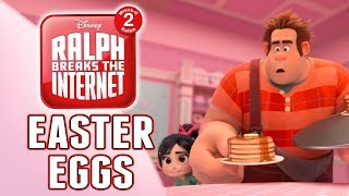 Wreck-It Ralph 2 Easter Eggs & Hidden Secrets! Ralph Breaks The Internet Teaser Trailer!
