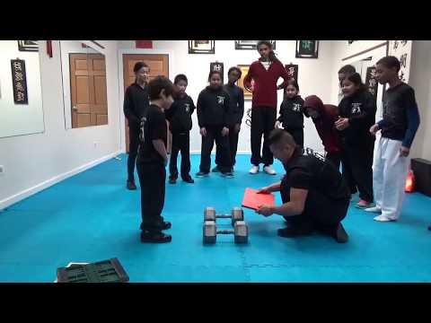 Kung Fu Kids - Strongest Stomp Board Breaking Challenge